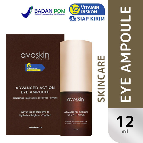 Foto Produk AVOSKIN ADVANCE ACTION EYE AMPOULE 12 ML dari Vitamindiskon