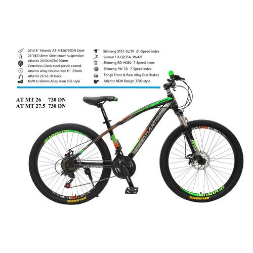 Foto Produk Sepeda Gunung MTB Atlantis 26 730 New Design 21Speed dari Mitra Jaya Bike