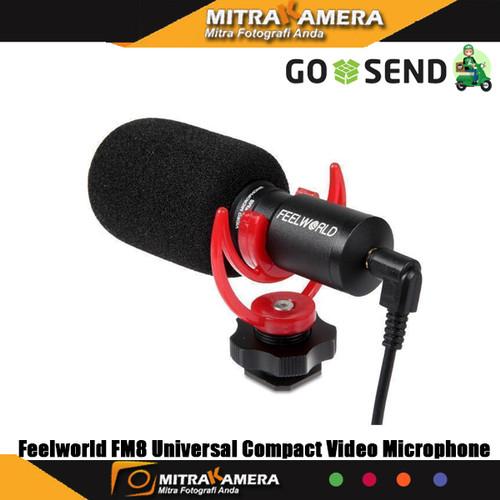 Foto Produk Feelworld FM8 Universal Compact Video Microphone dari mitrakamera