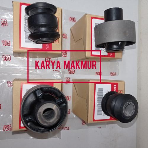 Foto Produk BUSHING BOSH ARM SAYAP DEPAN BESAR KECIL BRIO MOBILIO ORIGINAL SET dari KARYA MAKMUR AUTOPART
