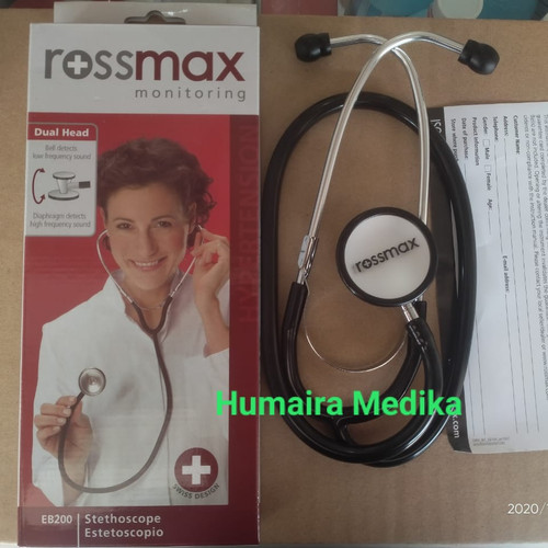 Foto Produk Stetoskop Rossmax EB 200/Rossmax Dual Stetoskop Rossmax dari Humaira Medika