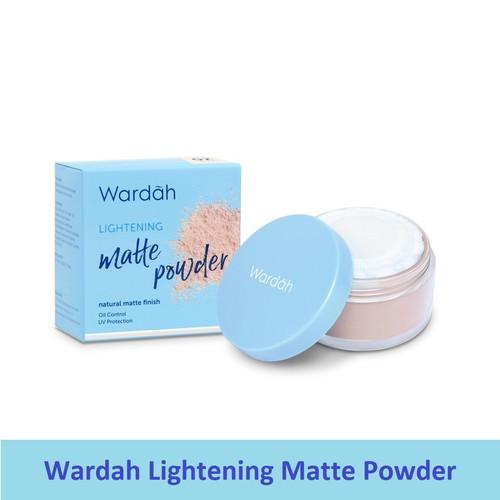 Foto Produk Wardah Lightening Matte Loose Powder | Bedak Tabur - 01 LIGHT BEIGE dari Debelleza Shop