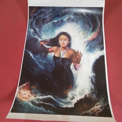 Foto Produk poster kertas Nyi Roro Kidul dari Hare Krishna