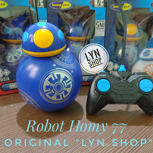"""Foto Produk Mainan Robot Remote Control """"HOMY 77"""" Original - Merah dari obral-sale"""