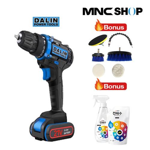 Foto Produk [DALIN] Power Tools Cordless Drill Bor Tanpa Kabel dari MNC Shop
