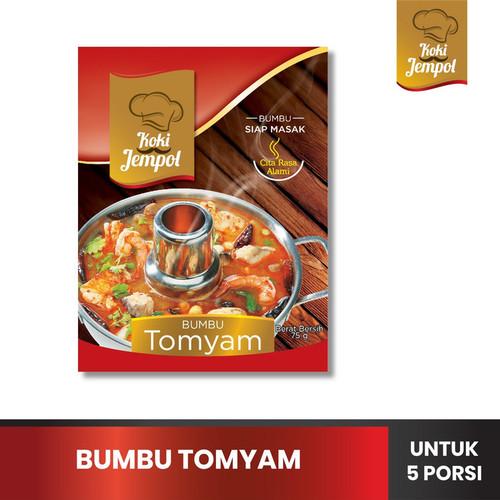 Foto Produk Koki Jempol Bumbu Tomyam Bumbu Siap Masak 75 gr dari QnA Tanjung Sanyang