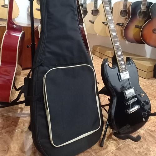 Foto Produk Semi gigbag tas gitar elektrik murah dari LDS MELODIC STORE MUSIC