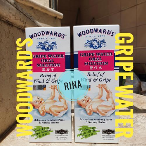 Foto Produk Woodwards Gripe Water - Obat Pereda Nyeri dan Demam Saat Tumbuh Gigi dari Rina