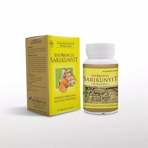 Foto Produk Sido Muncul Herbal Sari Kunyit 50 Kapsul dari Samudra Pahala Store
