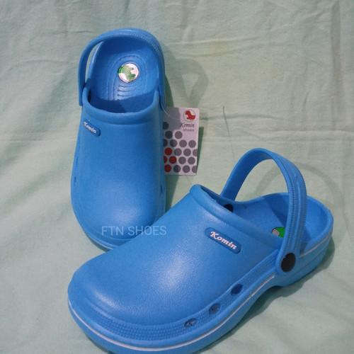 Foto Produk Sandal Baim / Dokter / Medis / Merk Komin 36-40 - Biru Muda, 36 dari FTN SHOES
