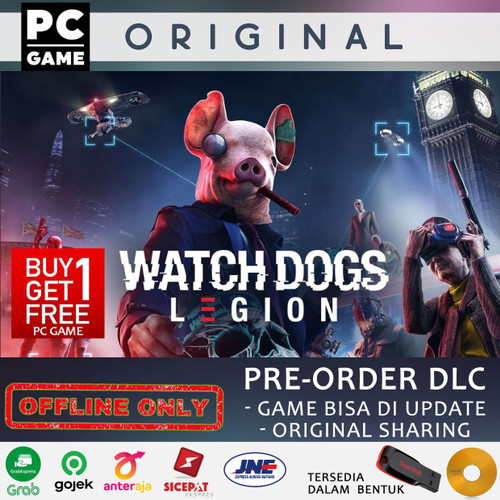 Foto Produk WATCH DOGS LEGION PC ORIGINAL SHARING OFFLINE ONLY - DVD USER dari Full Game