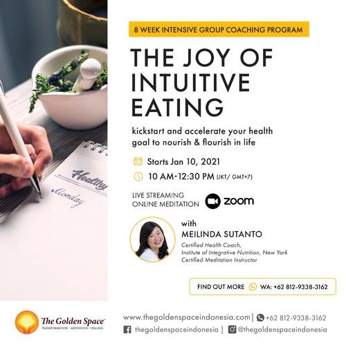 Foto Produk 8 Week Instensive Group Coaching Program : THE JOY OF INTUITIVE EATING dari The Golden Space