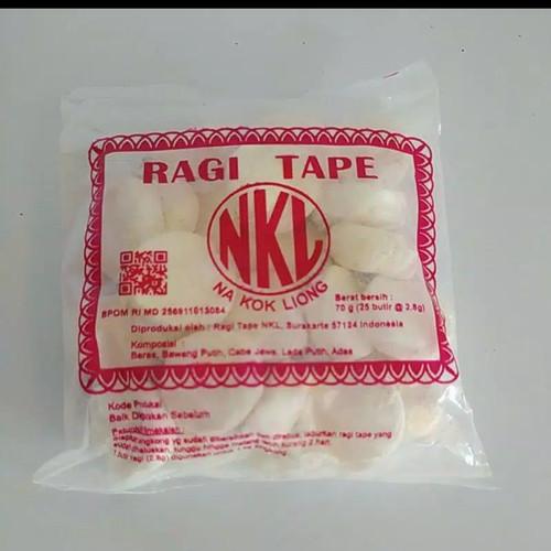 Foto Produk Ragi Tape NKL 70gr - Cipta Rasa dari Cinta kuliner