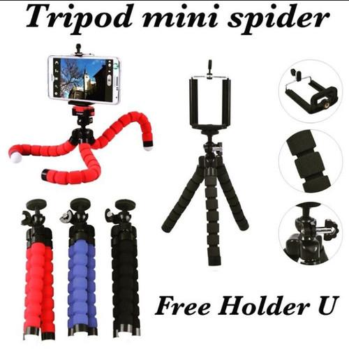 Foto Produk tripod spider mini holder u medium/tripod mini octopus dari ong star acc