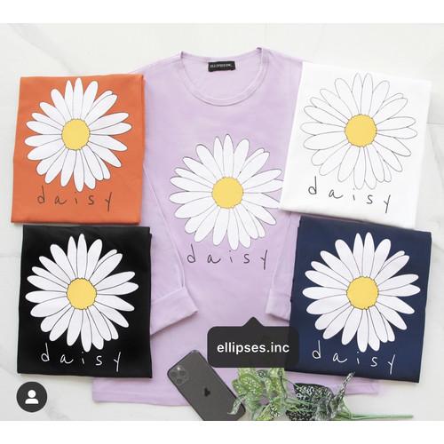 Foto Produk Kaos Wanita DAISY - Lengan Panjang - ELLIPSES.INC - Putih dari Ellipses.inc