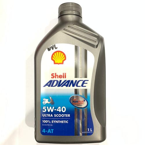 Foto Produk OLI SHELL ULTRA ADVANCE FULL SYTENTHIC 5W40 NMAX VARIO 150 PCX AEROX dari Lestari Motor 2