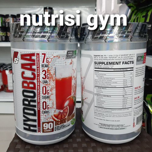 Foto Produk prosupps hydro bcaa 90 servings hydrobcaa pro supps 90 serving dari Nutrisi Gym