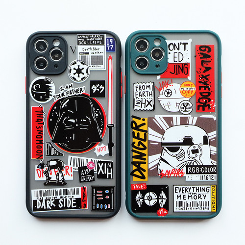 Foto Produk Star Wars Case - softcase full camera protect for all iPhone - SW BLACK, IPhone 7 8 dari Pipop Case