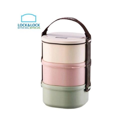 Foto Produk Lock & Lock rantang mini - Lunch Box - HPL770 - 3pcs SALE ! dari Fragrace