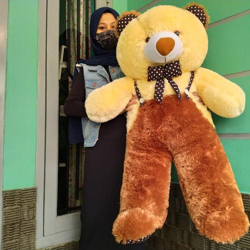 Foto Produk boneka beruang teddy bear jojon jumbo over all - sedang dari afrilianwe