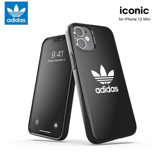 Foto Produk Casing iPhone 12 Mini Adidas Iconic Soft Case - Black dari IGA Official Store