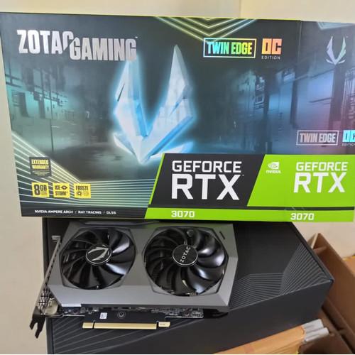 Foto Produk Zotac Gaming Geforce RTX 3070/RTX3070 Twin Edge OC 8GB DDR6X 256 BIT dari tf com