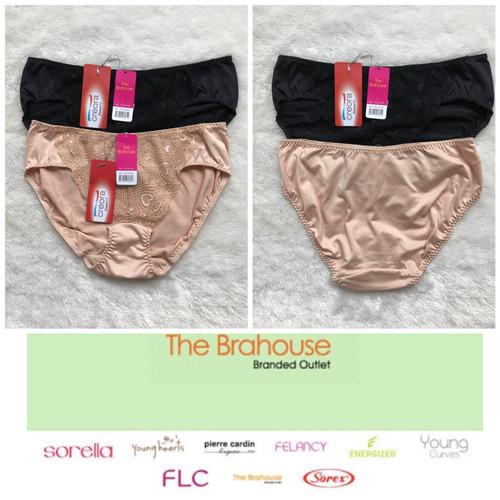Foto Produk The brahouse panty branded full label sexy lace comfort elastene ori dari thebrahouse