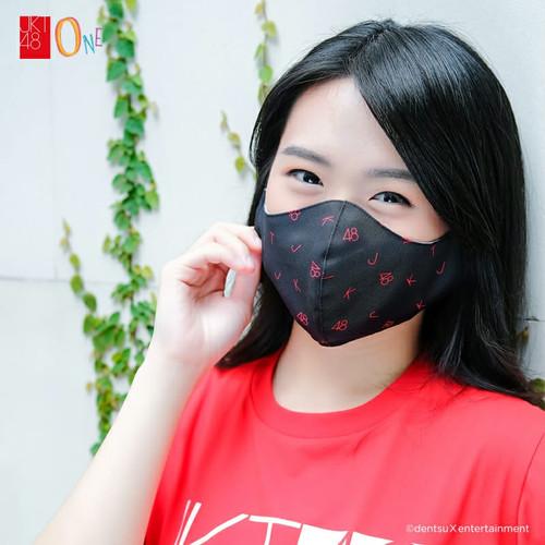Foto Produk JKT48 Mask Collection Black Logo dari JKT48 Official Shop