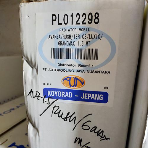 Foto Produk Radiator Avanza 1500cc Rush Terios manual 2004-2012 16400-BZ450koyorad dari Emerald - PrioMotor