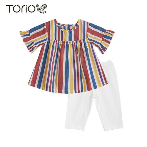 Foto Produk Torio Colourful Legging Set - Baju Setelan Anak Perempuan - 1-2 tahun dari Torio