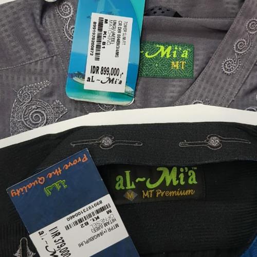 Foto Produk Baju muslim koko panjang pendek almia al mia al-mia original obral - PENDEK WARNA, M dari kieven