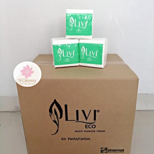 Foto Produk Tissue Livi Eco Multipurpose 150s/ Tissue Grosir Termurah!!! dari HiCleaning
