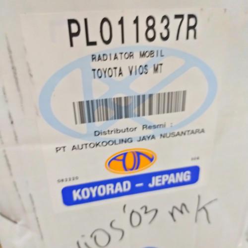 Foto Produk Radiator Vios GEN 1 Manual 16400-0M030 merk koyorad dari Emerald - PrioMotor