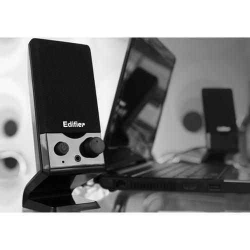 Foto Produk Speaker PC Laptop Komputer Edifier Stereo Bass Speaker USB dari Davidsongadget19