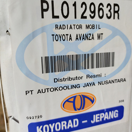 Foto Produk Radiator Avanza Xenia GEN 2 1300cc manual th 2012-2015 16400-BZ440koyo dari Emerald - PrioMotor