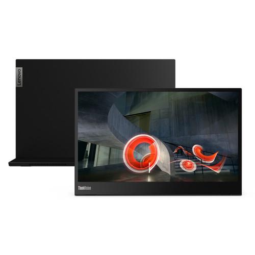 Foto Produk Monitor LED Portable Lenovo Thinkvision M14T FHD M14 USB C Touchscreen dari PT. MMG