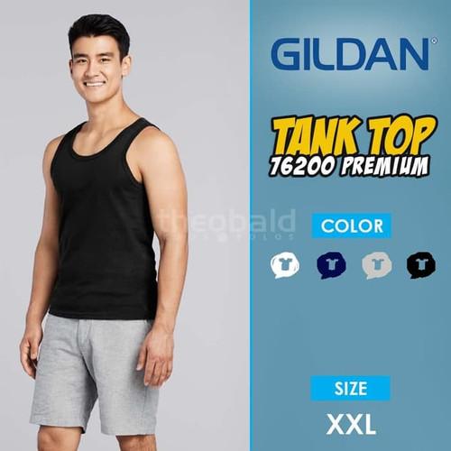 Foto Produk Kaos Tank Top Gildan Premium 76200 Original Size XXL dari Kaos Polos Theobald