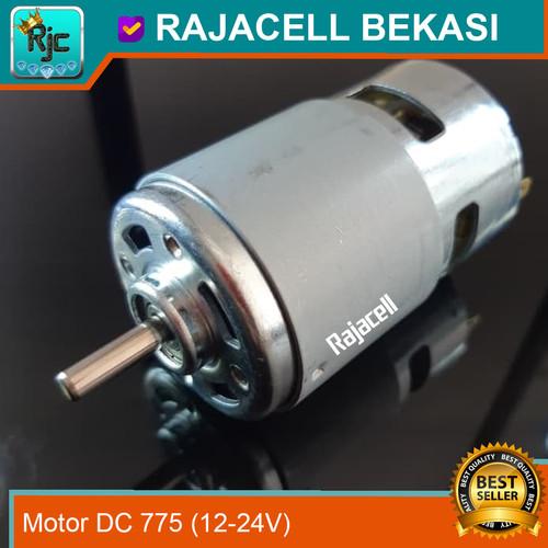 Foto Produk Motor DC 12V 24V 6500RPM High Speed High Torque untuk Bor CNC Milling dari RAJACELL BEKASI