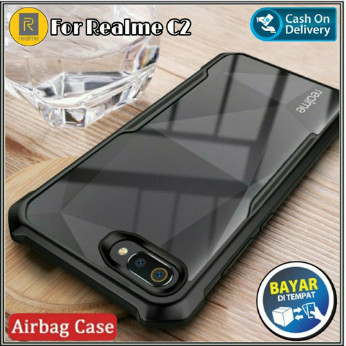 Foto Produk Case Soft Oppo Realme C2 Tpu HD Transparan Casing Cover dari RomanAcc