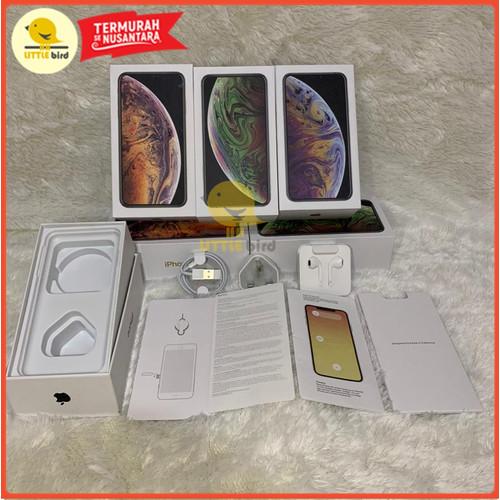Foto Produk Dus Kotak Fullset iPhone Xs & Xs Max Terima Grosiran - Orange dari Little.bird