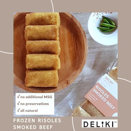 Foto Produk Frozen Risoles Smoked Beef No MSG dari DELIKI