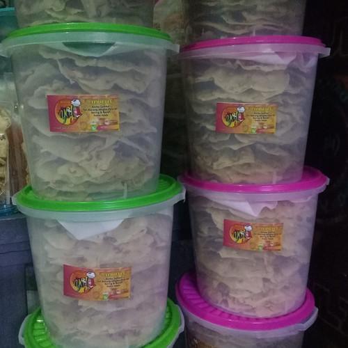 Foto Produk Peyek Kacang Rebon - Cabe, TOPLES 5 LITER dari BJay Store