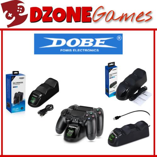 Foto Produk Dobe PS4 Dual Charging Dock v2 with LED dari Dzone Games Official