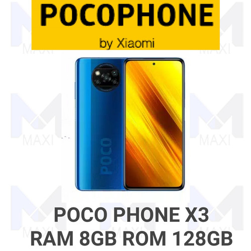 Foto Produk Poco phone Poco X3 NFC 8/128 Ram 8gb Rom 128gb Garansi Resmi - Biru dari Maxi phone cell