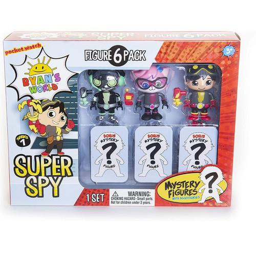 Foto Produk Ryan's World Toys 6 Pack Super Spy Figure Original dari Lovelybabykidzz