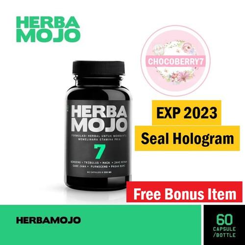 Foto Produk Herbana Herbamojo 60 Kapsul Obat Stamina Pria Alami Herba Mojo dari chocoberry7