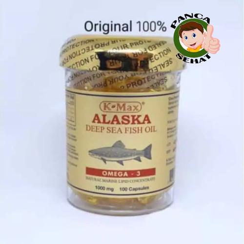 Foto Produk K-MAX ALASKA DEEP SEA FISH OIL(SUPER OMEGA 3,6,9) - MINYAK IKAN dari Panca Sehat