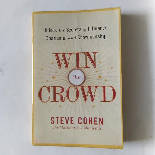 Foto Produk Buku Import Win The Crowd Steve Cohen The Millionaires Magician dari Kediripedia