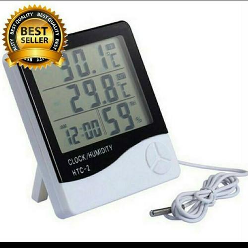 Foto Produk Temperatur dan Humidity meter Thermometer Suhu Ruangan digital dari Sehat 999