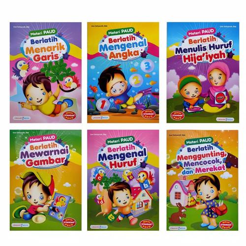 Foto Produk Buku Paket PAUD LM Isi 6 Buku - Full Colour dari Toko Buku dan Stationery